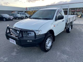 2008 Mitsubishi Triton ML MY08 GLX 4x2 White 5 Speed Manual Utility