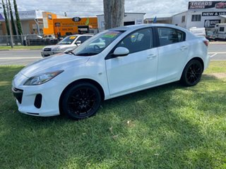2012 Mazda 3 BL10F2 Maxx Sport White 6 Speed Manual Sedan