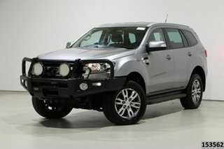 2017 Ford Everest UA MY17.5 Trend (4WD) Silver 6 Speed Automatic SUV.