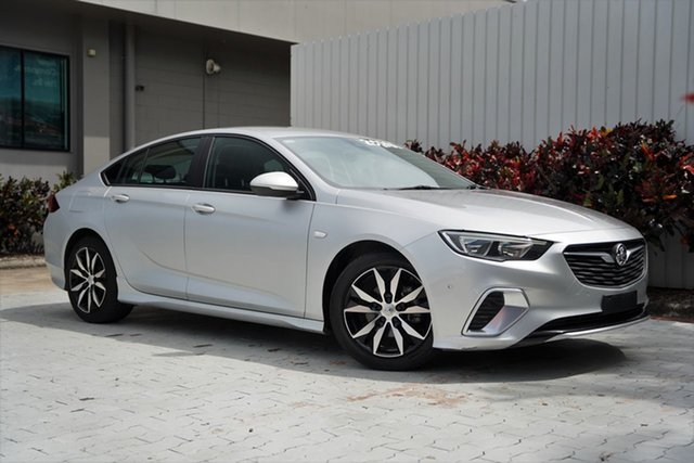 Used Holden Commodore ZB MY19 RS Liftback Cairns, 2018 Holden Commodore ZB MY19 RS Liftback Silver 9 Speed Sports Automatic Liftback