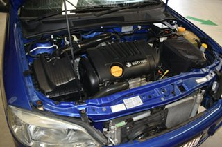 2004 Holden Astra TS CD Classic Blue 4 Speed Automatic Sedan