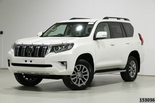 2018 Toyota Landcruiser Prado GDJ150R MY18 VX (4x4) Pearl White 6 Speed Automatic Wagon.
