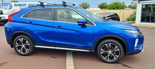 2017 Mitsubishi Eclipse Cross YA MY18 Exceed AWD Blue 8 Speed Constant Variable Wagon