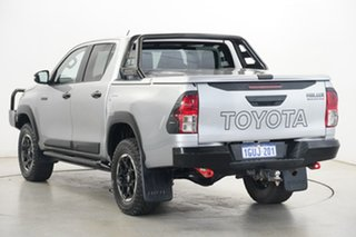 2019 Toyota Hilux GUN126R Rugged X Double Cab Silver Sky 6 Speed Manual Utility