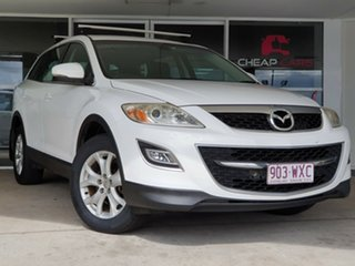 2012 Mazda CX-9 TB10A4 MY12 Classic White 6 Speed Sports Automatic Wagon.