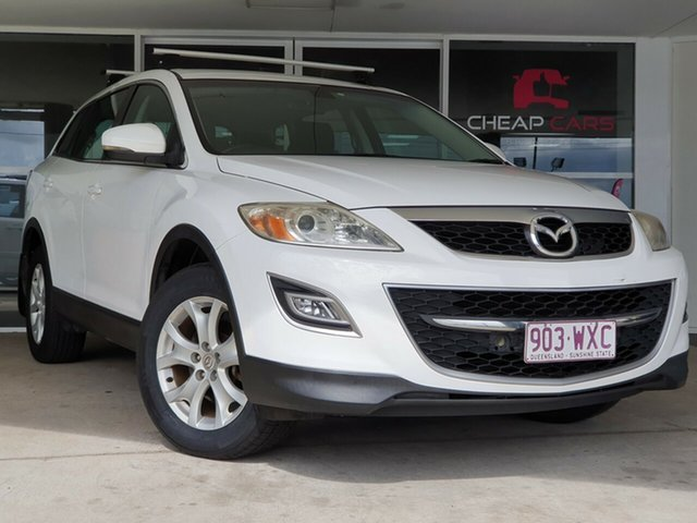 Used Mazda CX-9 TB10A4 MY12 Classic Brendale, 2012 Mazda CX-9 TB10A4 MY12 Classic White 6 Speed Sports Automatic Wagon