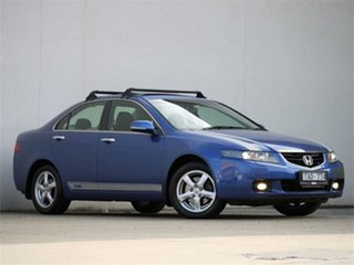 2004 Honda Accord Euro CL Luxury Blue Automatic Sedan.