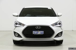 2015 Hyundai Veloster FS4 Series 2 SR Turbo + White 6 Speed Manual Coupe.