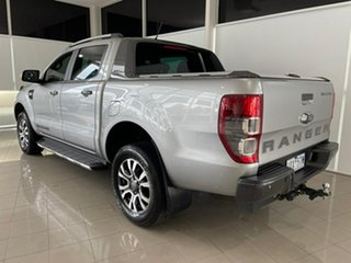 2019 Ford Ranger PX MkIII 2019.00MY Wildtrak Silver, Chrome 10 Speed Sports Automatic