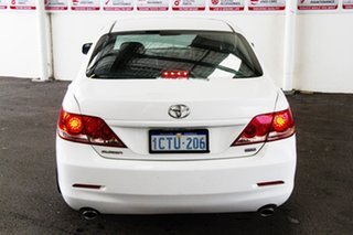 2008 Toyota Aurion GSV40R AT-X Diamond White 6 Speed Auto Sequential Sedan