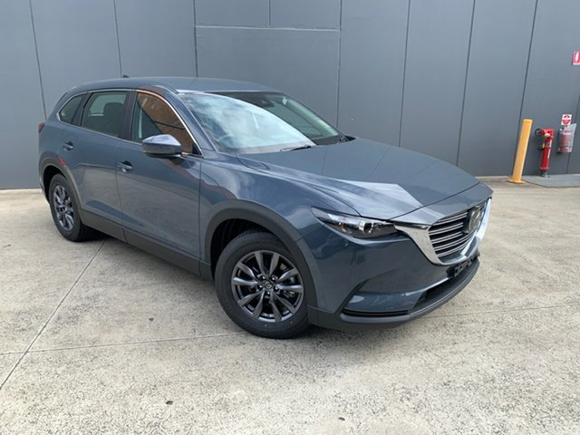 New Mazda CX-9 TC Sport SKYACTIV-Drive Alexandria, 2021 Mazda CX-9 TC Sport SKYACTIV-Drive Polymetal Grey 6 Speed Sports Automatic Wagon