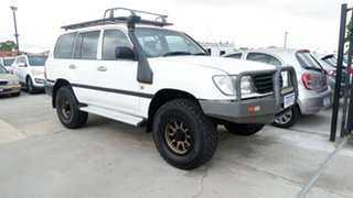 2001 Toyota Landcruiser HZJ105R Standard White 5 Speed Manual Wagon