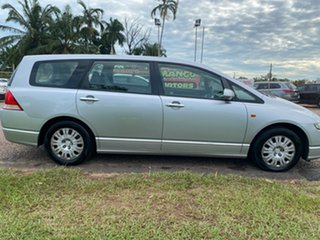 2006 Honda Odyssey 3rd Gen Luxury Silver 5 Speed Sports Automatic Wagon.