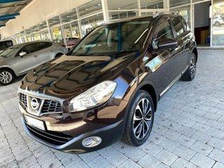 2012 Nissan Dualis TI-L Plum Constant Variable Hatchback.