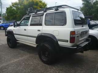1991 Toyota Landcruiser HZJ80R GXL White 5 Speed Manual Wagon