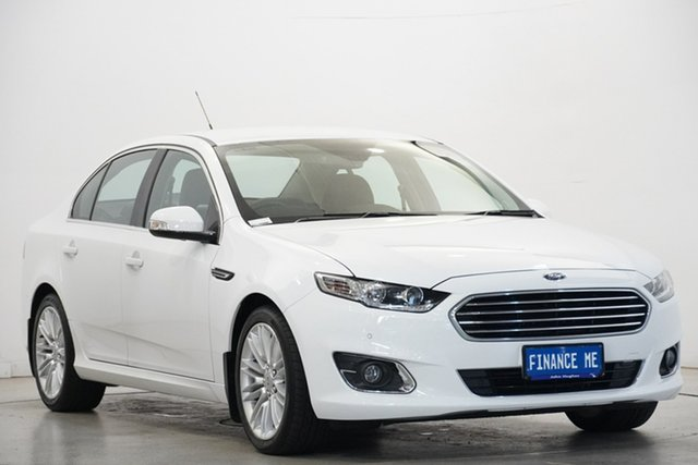 Used Ford Falcon FG X G6E Victoria Park, 2016 Ford Falcon FG X G6E White 6 Speed Sports Automatic Sedan