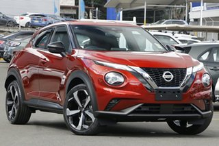2020 Nissan Juke F16 ST-L DCT 2WD Fuji Sunset Red 7 Speed Sports Automatic Dual Clutch Hatchback.