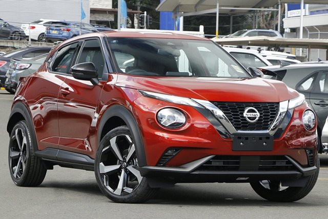 New Nissan Juke F16 ST-L DCT 2WD Morphett Vale, 2020 Nissan Juke F16 ST-L DCT 2WD Fuji Sunset Red 7 Speed Sports Automatic Dual Clutch Hatchback