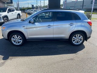 2013 Mitsubishi ASX XB MY13 Aspire 2WD Silver 6 Speed Constant Variable Wagon