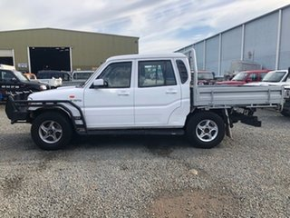 2015 Mahindra Pik-Up S5 11 Upgrade (4x4) White 5 Speed Manual Dual Cab Chassis