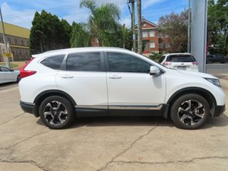 2017 Honda CR-V MY18 VTi-LX (AWD) White Continuous Variable Wagon