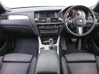 2016 BMW X4 F26 MY15 xDrive 35D Black 8 Speed Automatic Coupe