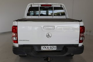 2012 Holden Colorado RG MY13 LX Crew Cab White 5 Speed Manual Utility.
