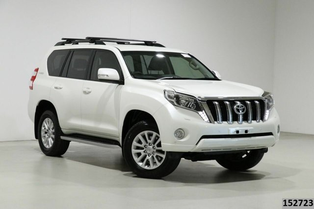 Used Toyota Landcruiser Prado GDJ150R MY16 VX (4x4) Bentley, 2016 Toyota Landcruiser Prado GDJ150R MY16 VX (4x4) Crystal Pearl 6 Speed Automatic Wagon