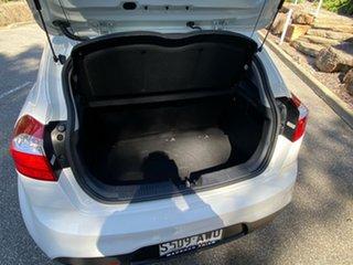 2013 Kia Rio UB MY13 S White 6 Speed Manual Hatchback