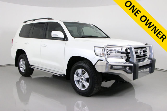 Used Toyota Landcruiser VDJ200R MY16 GXL (4x4) Bentley, 2018 Toyota Landcruiser VDJ200R MY16 GXL (4x4) Pearl White 6 Speed Automatic Wagon
