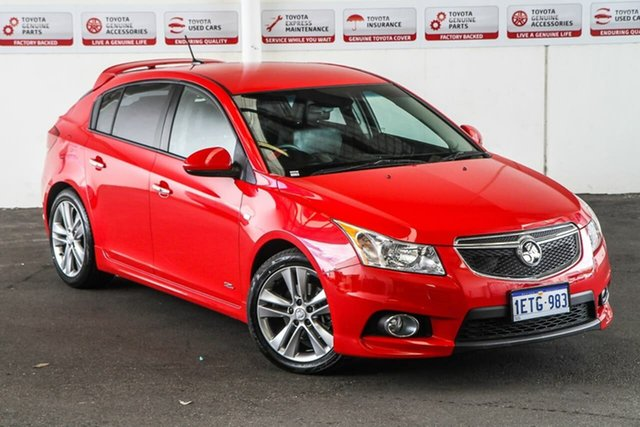 Pre-Owned Holden Cruze JH MY14 SRI Z-Series Myaree, 2014 Holden Cruze JH MY14 SRI Z-Series Red 6 Speed Automatic Hatchback