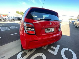 2017 Holden Barina TM MY17 LS Red/Black 5 Speed Manual Hatchback