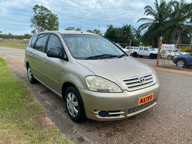 Used Toyota Avensis Verso ACM20R GLX Pinelands, 2002 Toyota Avensis Verso ACM20R GLX Gold 4 Speed Automatic Wagon