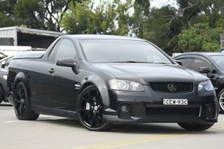2011 Holden Commodore VE II SS-V Redline Edition Black 6 Speed Manual Utility.