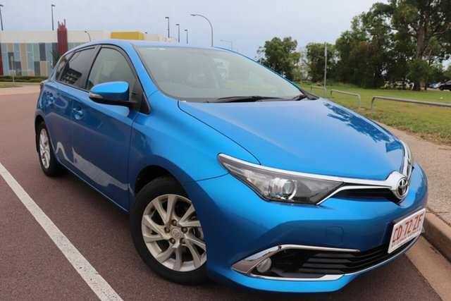 Pre-Owned Toyota Corolla ZRE172R Ascent S-CVT Palmerston, 2016 Toyota Corolla ZRE172R Ascent S-CVT Blue Gem 7 Speed Automatic Hatchback