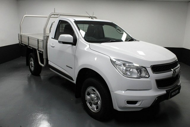 Used Holden Colorado RG MY16 LS 4x2 Hamilton, 2016 Holden Colorado RG MY16 LS 4x2 White 6 Speed Sports Automatic Cab Chassis