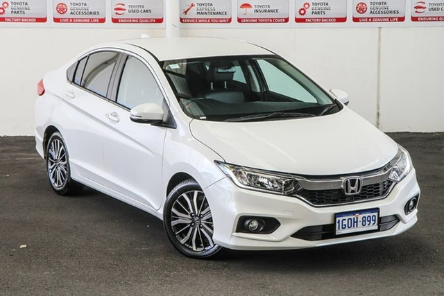 Pre-Owned Honda City GM MY18 VTi-L Rockingham, 2018 Honda City GM MY18 VTi-L Continuous Variable Sedan