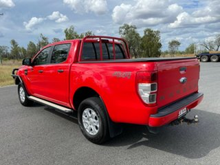 2018 Ford Ranger PX MkII 2018.00MY XLS Double Cab Race Red/e 6 Speed Sports Automatic Utility