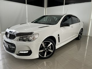 2016 Holden Commodore VF II MY16 SS Black White 6 Speed Sports Automatic Sedan.