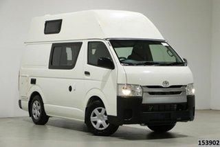 2018 Toyota HiAce TRH201R MY16 LWB White 6 Speed Automatic Van.