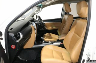 2018 Toyota Fortuner GUN156R MY18 Crusade White 6 Speed Automatic Wagon