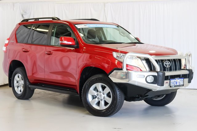 Used Toyota Landcruiser Prado GDJ150R GXL Wangara, 2017 Toyota Landcruiser Prado GDJ150R GXL Red 6 Speed Sports Automatic Wagon
