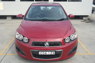 2013 Holden Barina TM MY13 CD Red 6 Speed Automatic Hatchback.