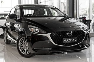 2021 Mazda 2 DJ2HAA G15 SKYACTIV-Drive GT Black 6 Speed Sports Automatic Hatchback.