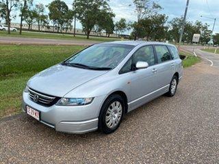 2006 Honda Odyssey 3rd Gen Luxury Silver 5 Speed Sports Automatic Wagon.