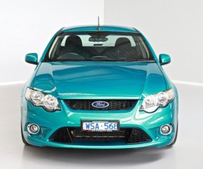 2008 Ford Falcon FG XR6 Ute Super Cab Green 5 Speed Sports Automatic Utility.
