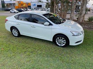 2014 Nissan Pulsar B17 ST White 1 Speed Constant Variable Sedan.
