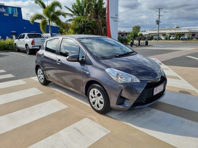 Pre-Owned Toyota Yaris NCP130R MY17 Ascent Gladstone, 2017 Toyota Yaris NCP130R MY17 Ascent Graphite 4 Speed Automatic Hatchback