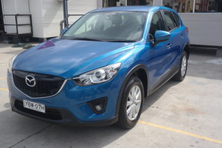 2013 Mazda CX-5 KE1021 Maxx SKYACTIV-Drive AWD Sport Blue 6 Speed Sports Automatic Wagon.