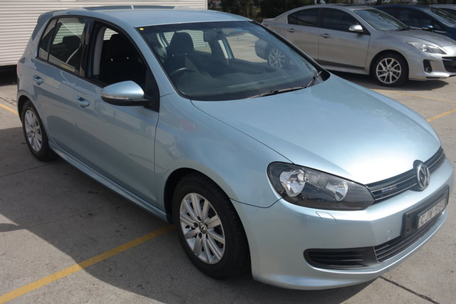 Used Volkswagen Golf VI MY11 BlueMOTION Maryville, 2011 Volkswagen Golf VI MY11 BlueMOTION Blue 5 Speed Manual Hatchback
